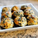 Pioneer Woman photo of Spicy Spinach Stuffed Mushrooms